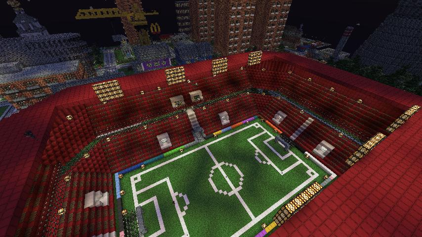 Скачать карту большой город для Minecraft 1.7.2