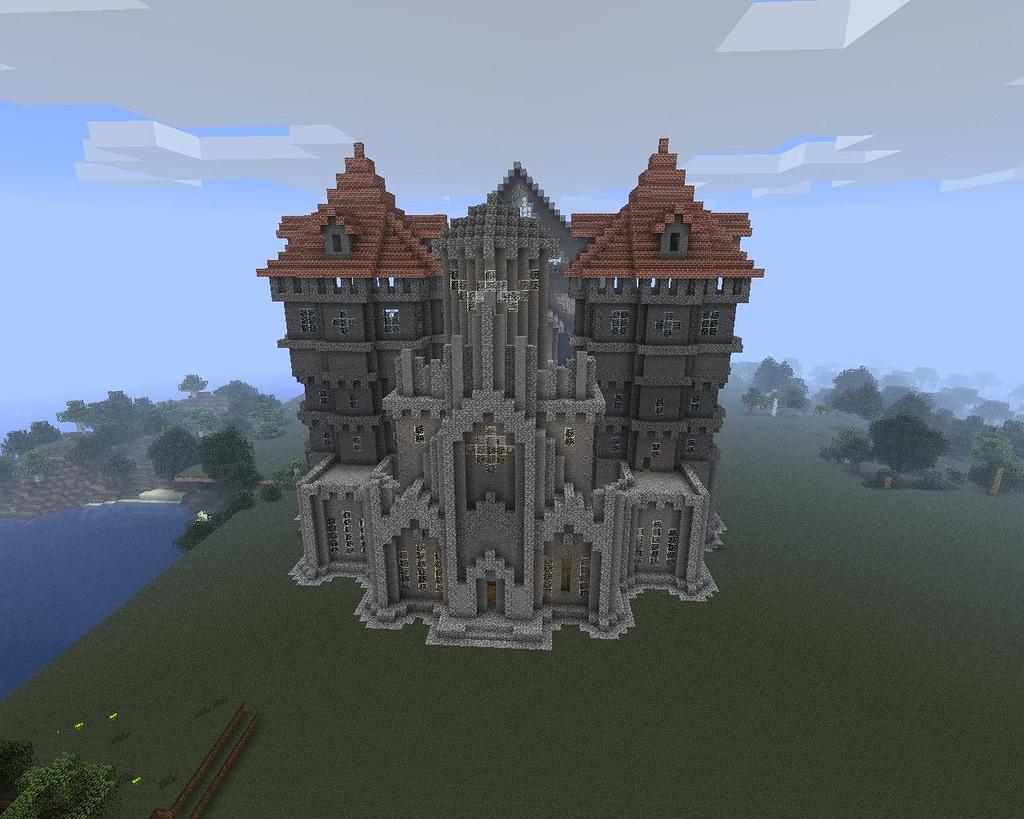 Супер дома, крепости и замки - Постройки и дома в MineCraft. как правильно привязывать воблера.
