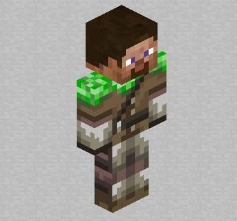 Скин игрока Creeper Hunter для Minecraft