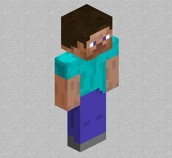 Cтандартный cкин игрока для Minecraft