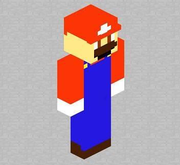 Скин игрока Mario для Minecraft
