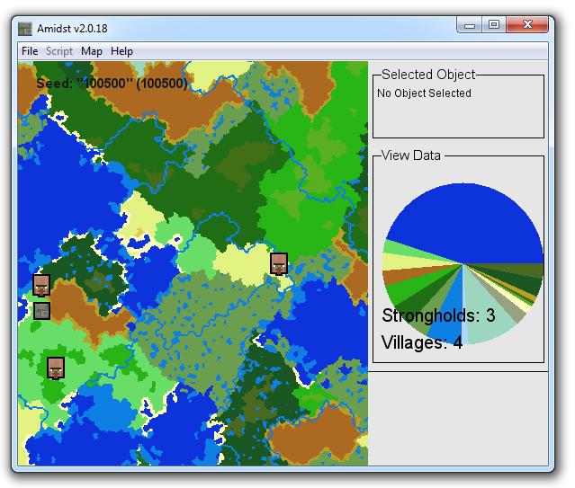 Amidst v2.0.18 для minecraft