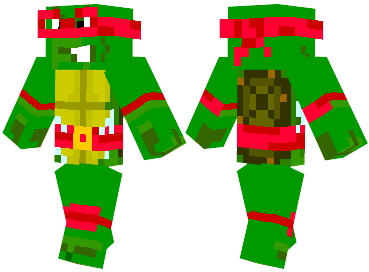 Скин Teenage Mutant Ninja Turtle для minecraft